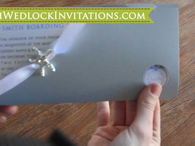 How to DIY Boarding Pass Wedding Invitations, How to Create Boarding Pass Invitations, Tutorial