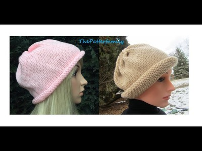 How to Knit a Hat Pattern #20 │ by ThePatterfamily