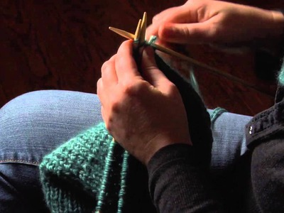 How to Knit a Square Hat : Knitting Hats
