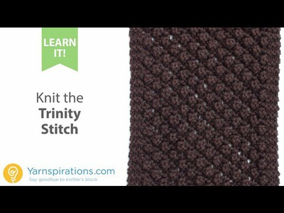 How To Knit the Trinity Stitch