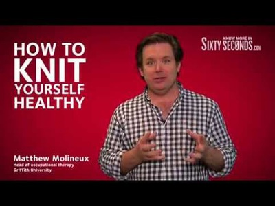 How to knit yourself healthy