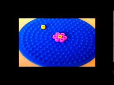 How To Make Perler Bead Little Flower