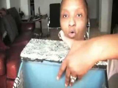MRSSAXTON'S DIVA DEN:  DIY BREAD BOX REVAMPED AND REPURPOSED.wmv