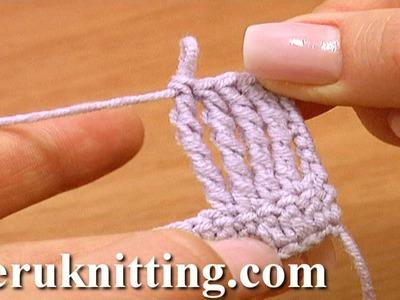 Quadruple Treble Crochet Stitch Crochet Basics Tutorial 13
