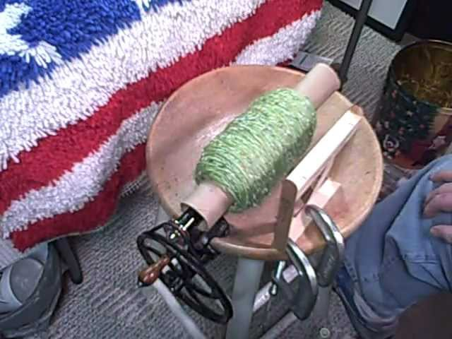 The Incredibly Cheesy DIY Yarn Ball Winder Technique Thingy