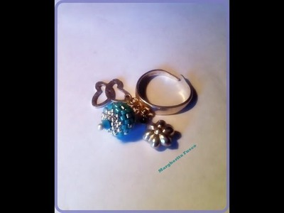 Tutorial: DIYcome rivestire una sfera da 8mm a peyote. Peyote beaded bead