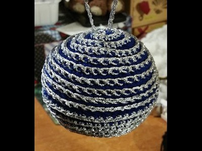 Tutorial pallina di Natale all'uncinetto amigurumi - Crochet Christmas ball