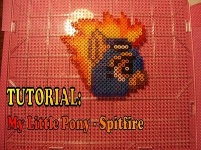 TUTORIAL: Spitfire My Little Pony FIM - Perler Beads DIY