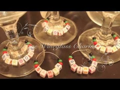 12 Days of Xmas Tutorial: Day 5 - Named Wine Charms