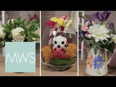3 DIY Floral Table Displays | Bridal Blossom S1E2.8
