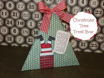 3D Christmas Tree Gift Package Tutorial