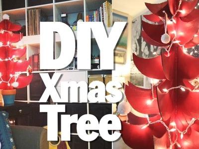 BROKE FOR THE HOLIDAYS, DIY X-MAS TREE
