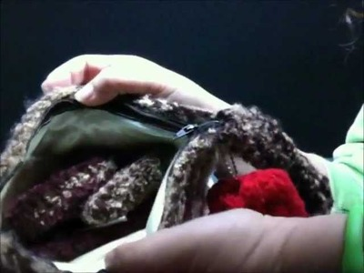 Crochet Clutch or Makeup Bag