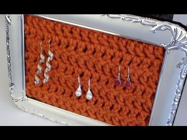 Crochet Earring Hanger Frame - Crochet Earring Holder