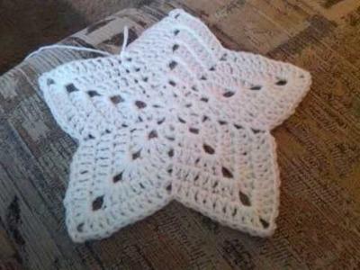 Crochet Star Baby Blanket
