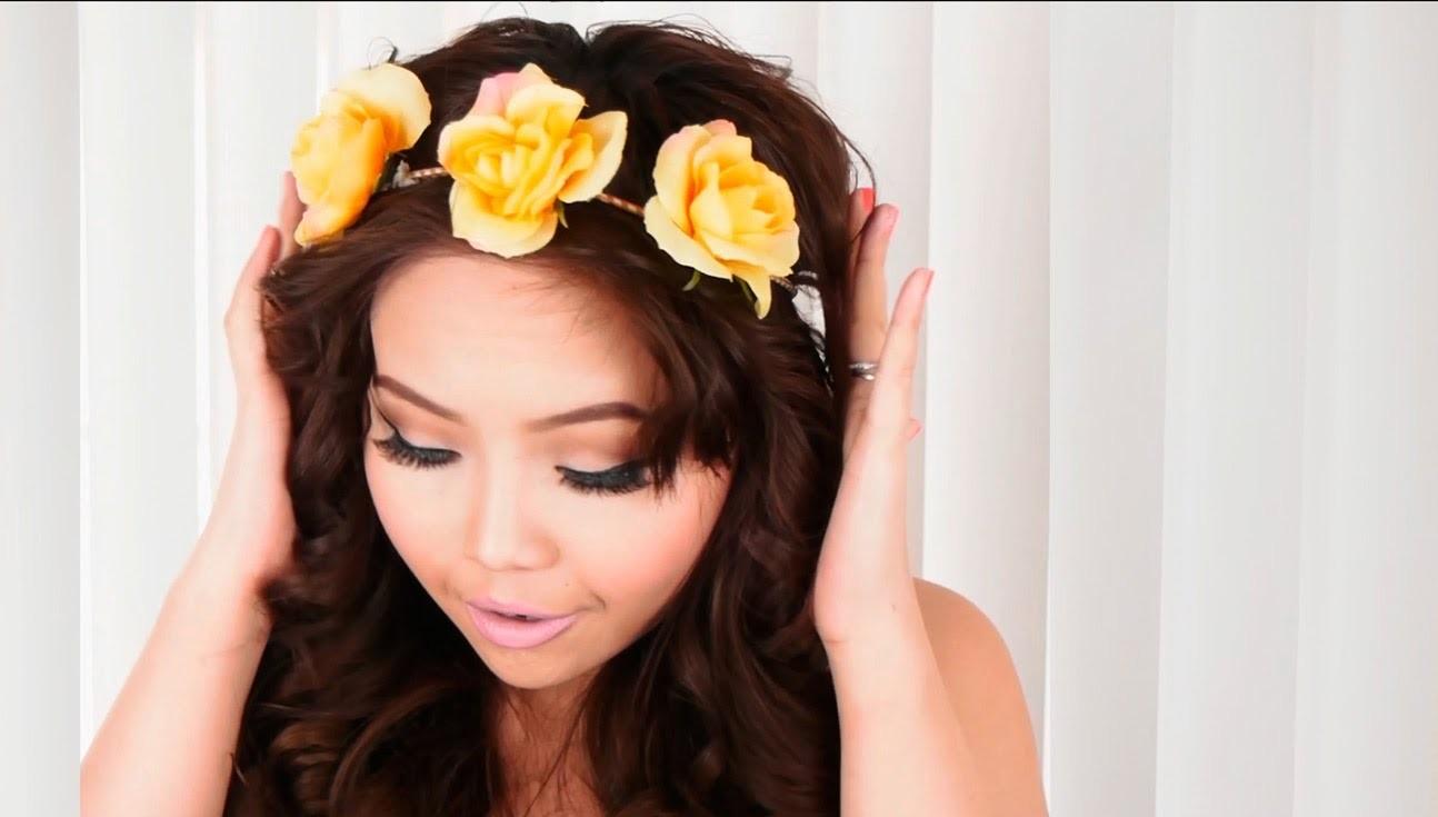 DIY: 4-in-1 Flower Hair Accessories - maricarljanah