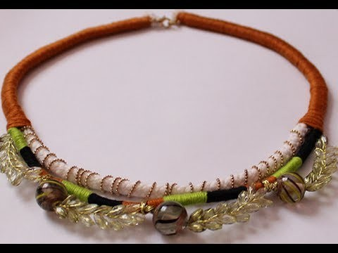 DIY Bohemian Necklace