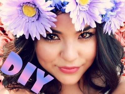 DIY Flower Crowns! [CHEAP & EASY!]