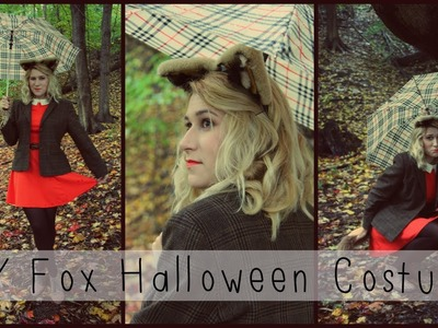 DIY Fox Halloween Costume (Makeup, Hair, Outfit, Ears & Tail) ☾