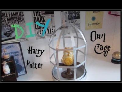 DIY Harry Potter Prop I Paper Craft Origami Owl Cage