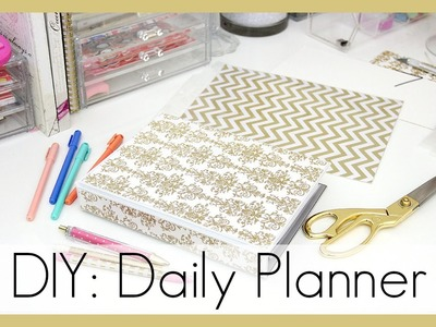DIY: How I Made My Daily Planner | erisaxo