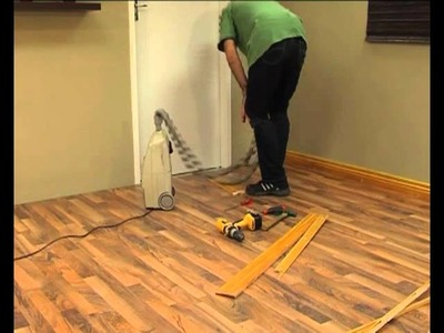 DIY Laminate floors | How to install Skirtings and trims for laminate floors