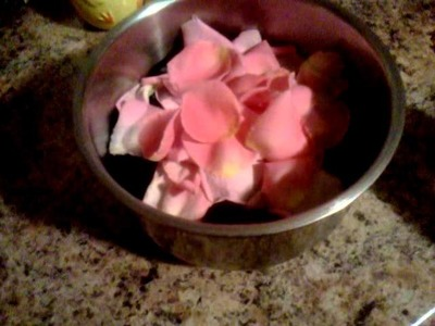 DIY: Rose Water Toner Part One