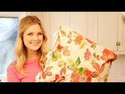 Easy DIY Pillowcases!!