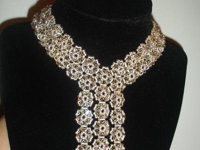 Handmade Jewelry: Elegant Black Trio Necklace Part 2 of 2