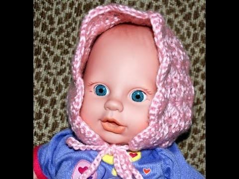 How to Crochet a Baby Bonnet Part III