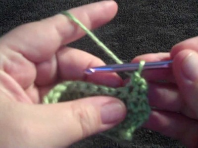 How to Crochet a Button Hole