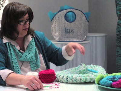 How to Crochet Strands Together : Crocheted Items