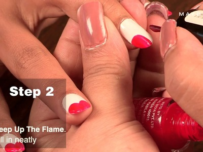 How To Do the Color Show Sweet Heart DIY Nail Art