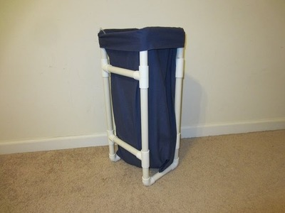 How to make a Dirty Clothes Basket for Kids - PVC Laundry Basket - Crafts for your Room