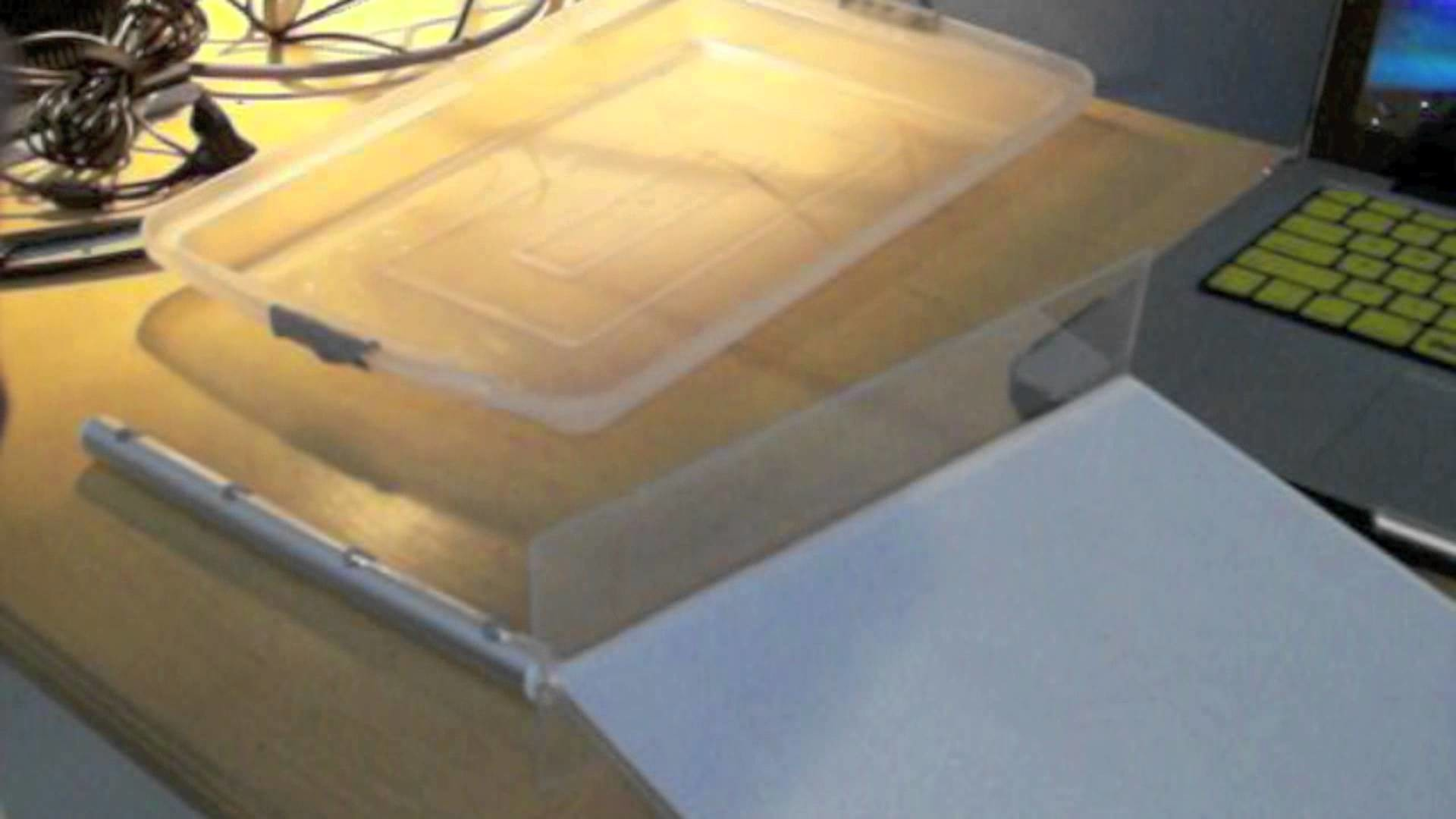 HOW TO MAKE A DIY LIGHT TRACING TABLE FOR DRAWING