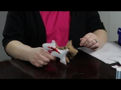 How to Make a Felt Dog : Felt Craft Projects