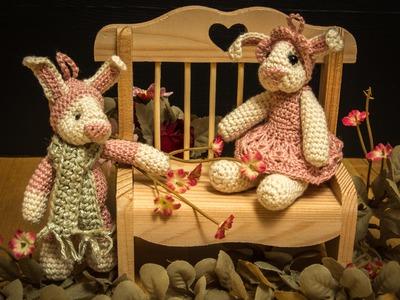 How to make crochet rabbit - 4. part