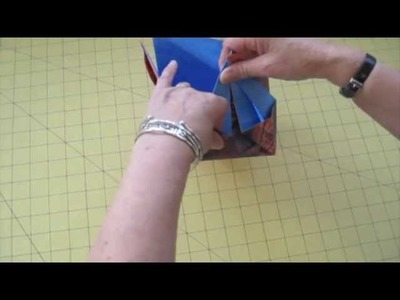 How to make origami boxes - Janet Edmonds
