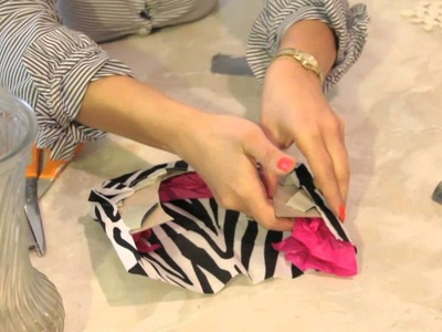 How to Make Your Own Crafts for Decor With Zebra Print : DIY Crafts