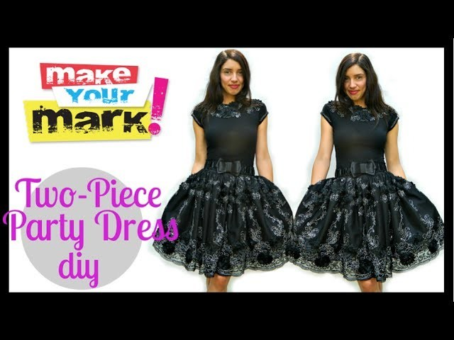 How to:  Party Dress DIY