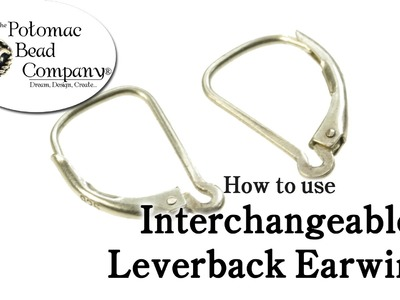 How to Use Interchangeable Leverback Earwires