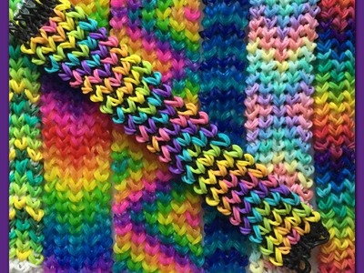 Loose Knit Bracelet on the Rainbow Loom