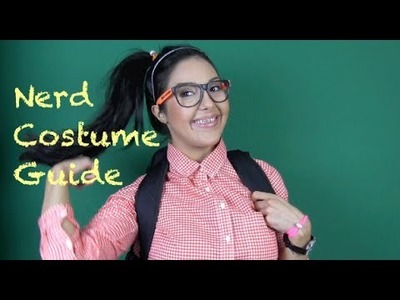 My (NOT) Sexy Nerd Costume - DIY Braces - Last Minute Halloween Costume