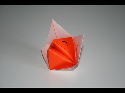 Origami tutorial - Talkative fox