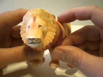 Papercraft Lion - Leo - Aslan from Narnia