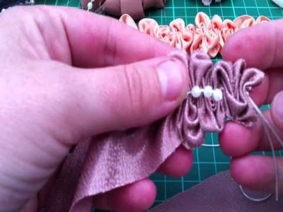 Ruffle Trim Tutorial made with my new fabric :)