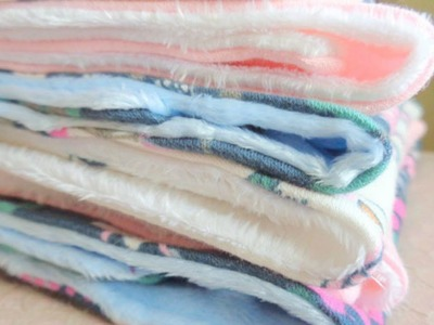Sew Soft Jersey Fabric Baby Burp Cloths - DIY Crafts - Guidecentral
