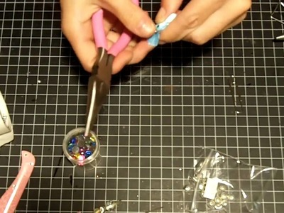 Super Simple Project 10 Beaded Flower Pin Video 34