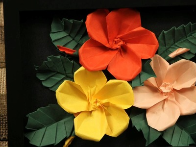 Thuy's 3D Origami and Quilling Flowers #2
