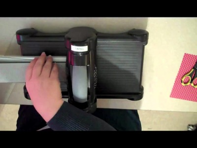 Tips for Diecutting Letters with the Sizzix Bigshot: Part I